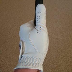 左手親指の添え方5