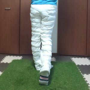 股関節の正しい動き(フィニッシュ)