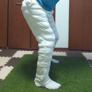 股関節の正しい動き(バックスイング)