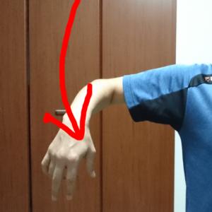 腕の内旋運動
