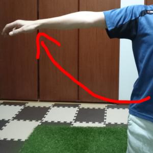 腕の外転(側方挙上)