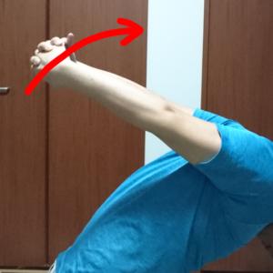 肩甲骨ストレッチ4