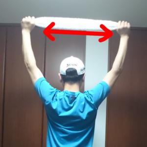背中の筋トレ1