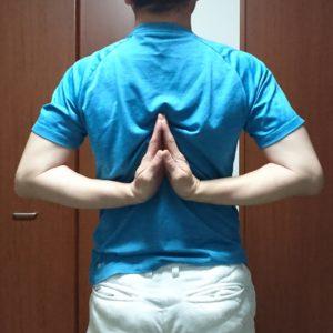 肩甲骨ストレッチ
