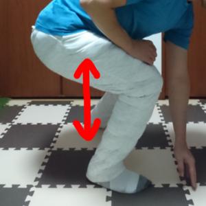 股関節の動的ストレッチ