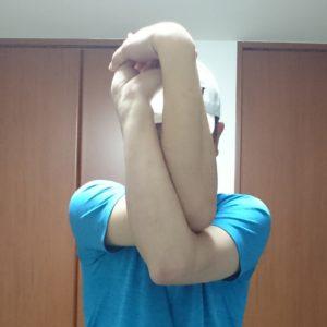 肩甲骨ストレッチ8