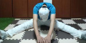 股関節ストレッチ1