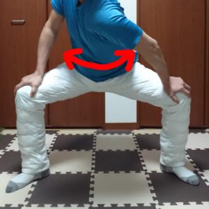 股関節ストレッチ2