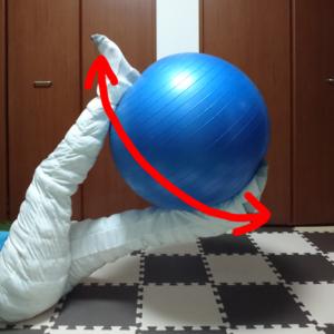 バランスボールトレーニング2