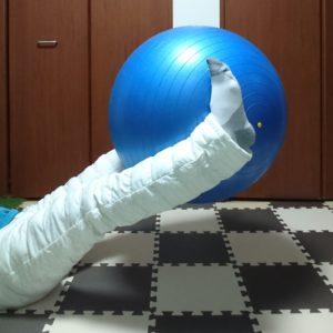 バランスボールトレーニング1