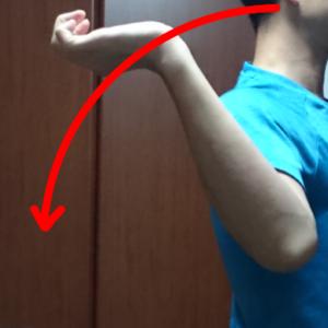 ゴルフスイング肘の使い方3
