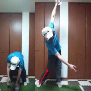 地面反力を大きく使う動きを身につけるコンテクスチュアルトレーニング⑤