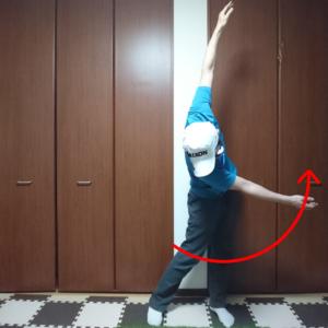 前傾姿勢をキープするスイングを身につける為のコンテクスチュアルトレーニング④